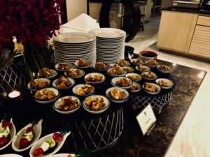 Banyan Tree Bangkok Club Lounge Evening Spread