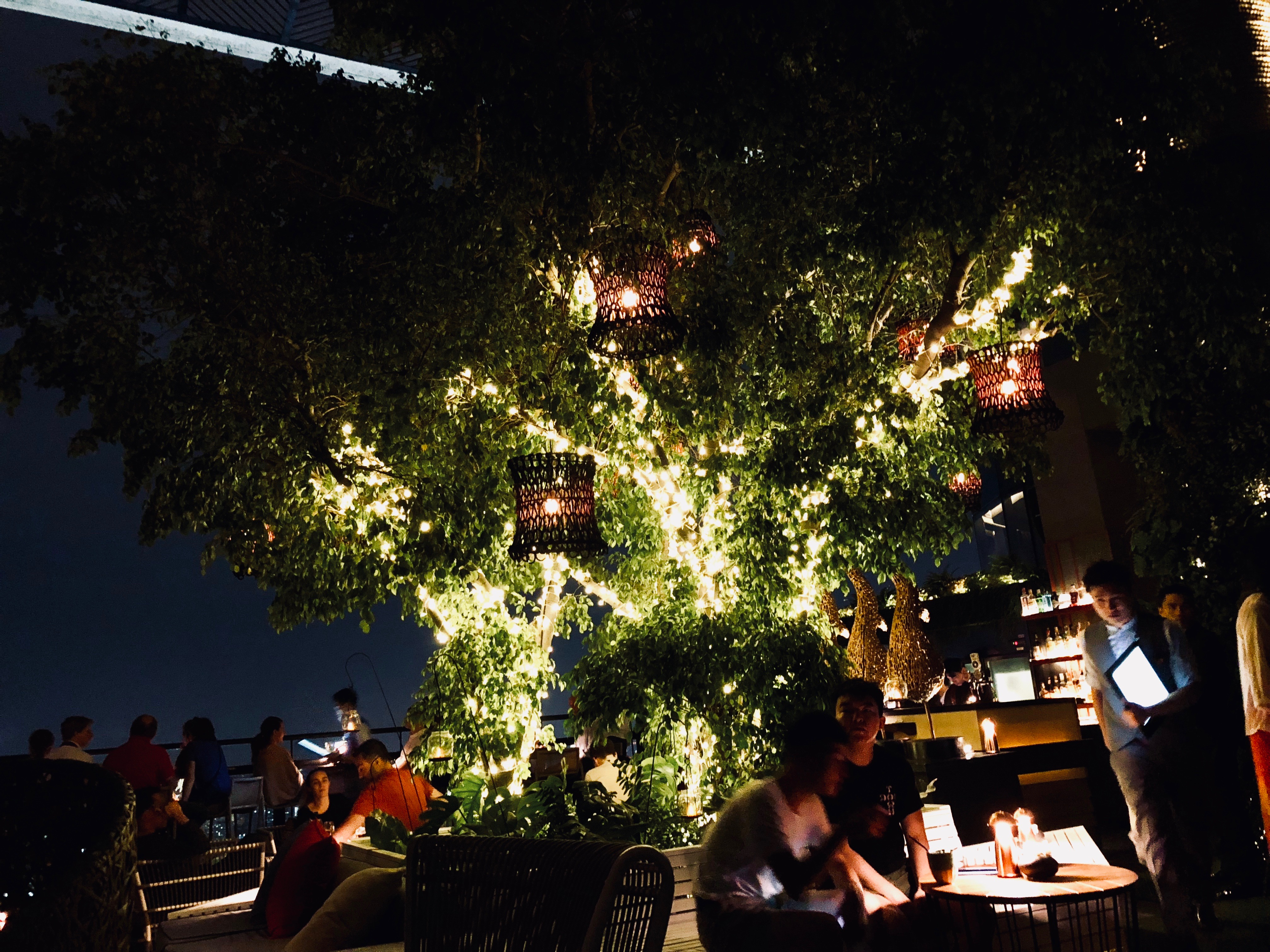 Banyan Tree Bangkok Saffron Sky Garden