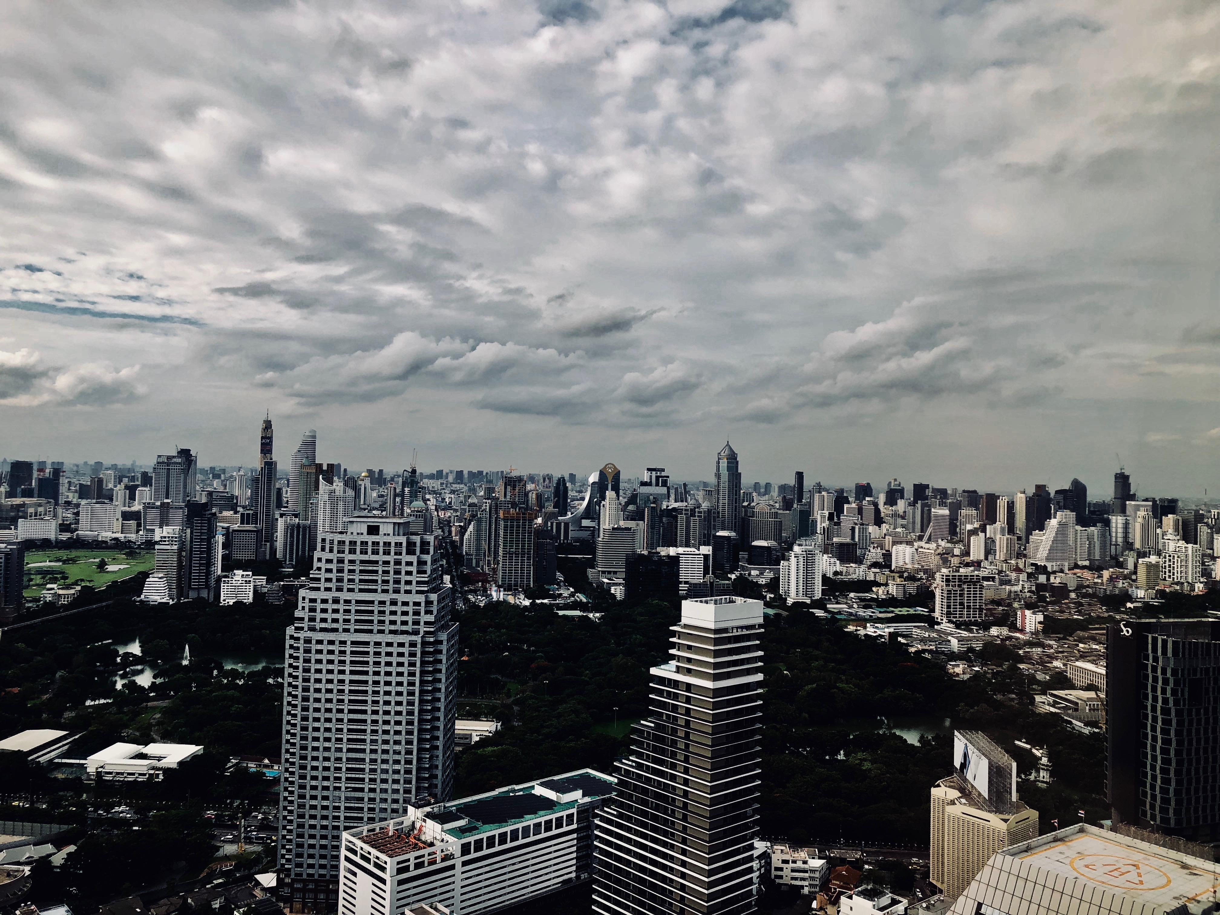 Banyan Tree Bangkok Serenity Club Room View