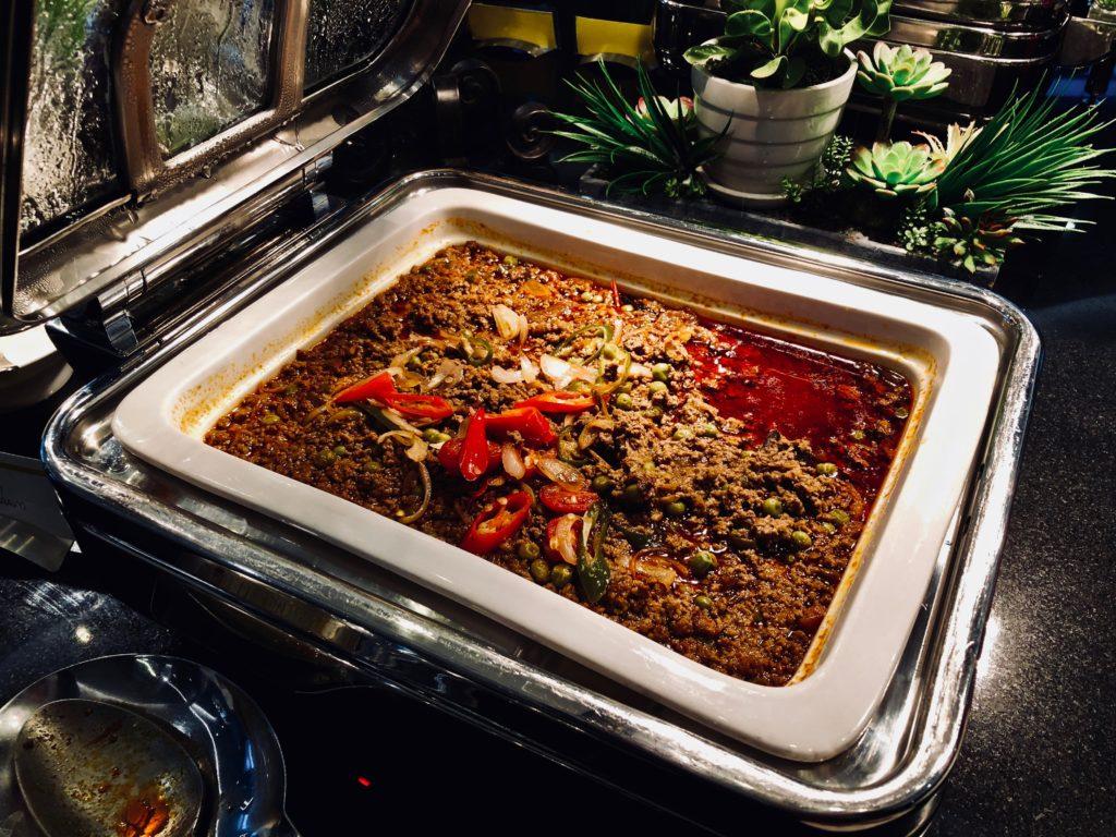 Le Meridien Kuala Lumpur Club Lounge Dinner