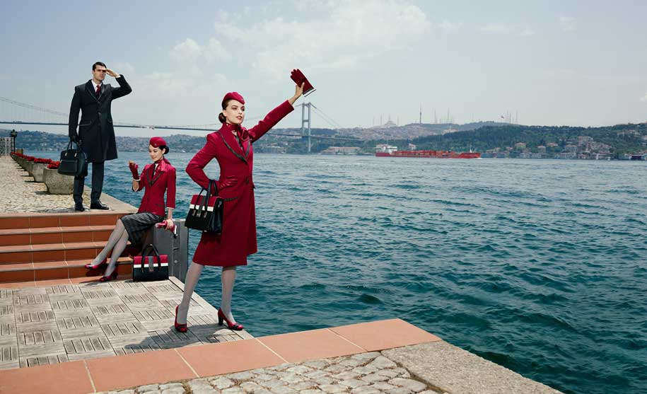 neue Turkish Airlines Uniform