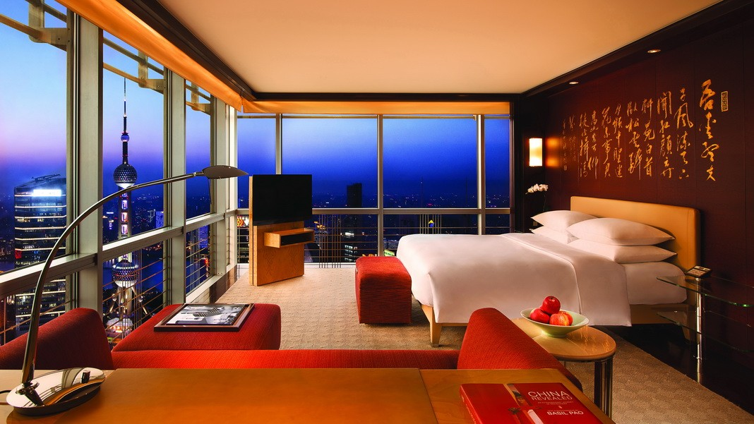 Die höchsten Hotelzimmer der Welt
