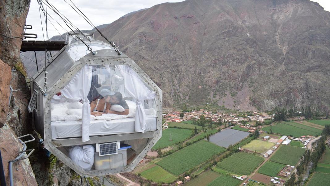 ungewöhnliche Hotels