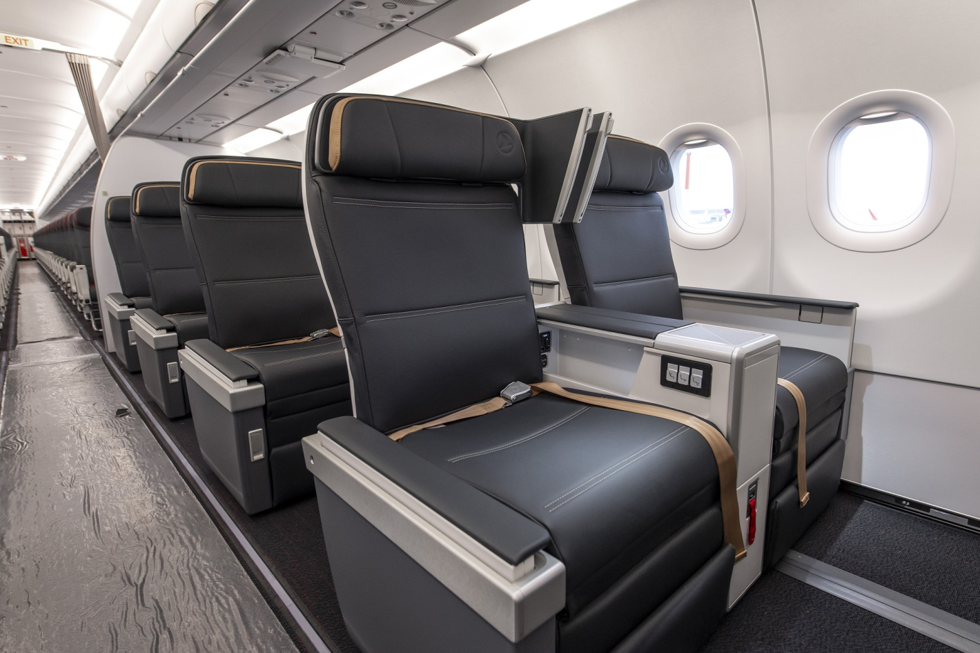 Turkish Airlines Airbus A321neo Business Class