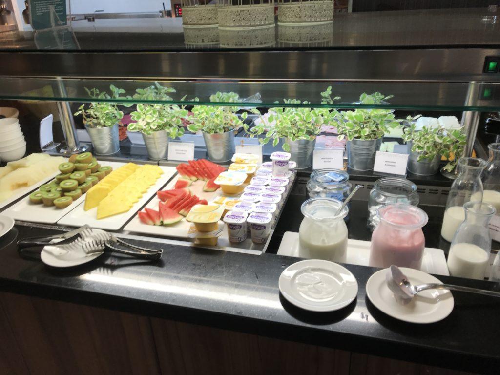 Hilton Garden Inn Sevilla Frühstück