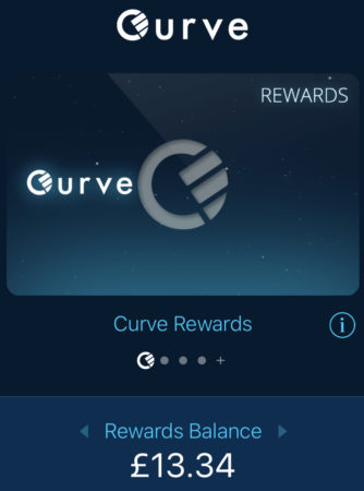 Curve Card Cashback