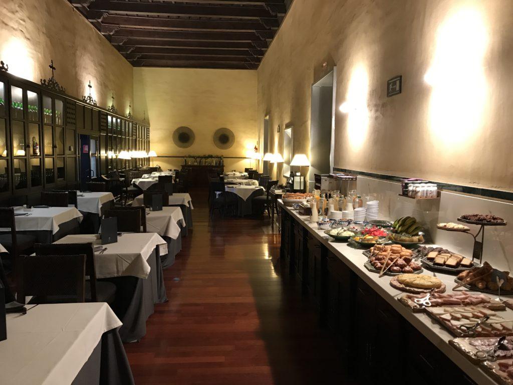Hotel Palacio De Santa Paula Frühstück