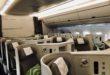 Finnair Business Class A350 Kabine