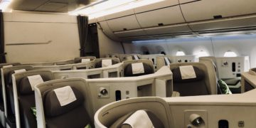 Finnair Business Class A350 Kabine