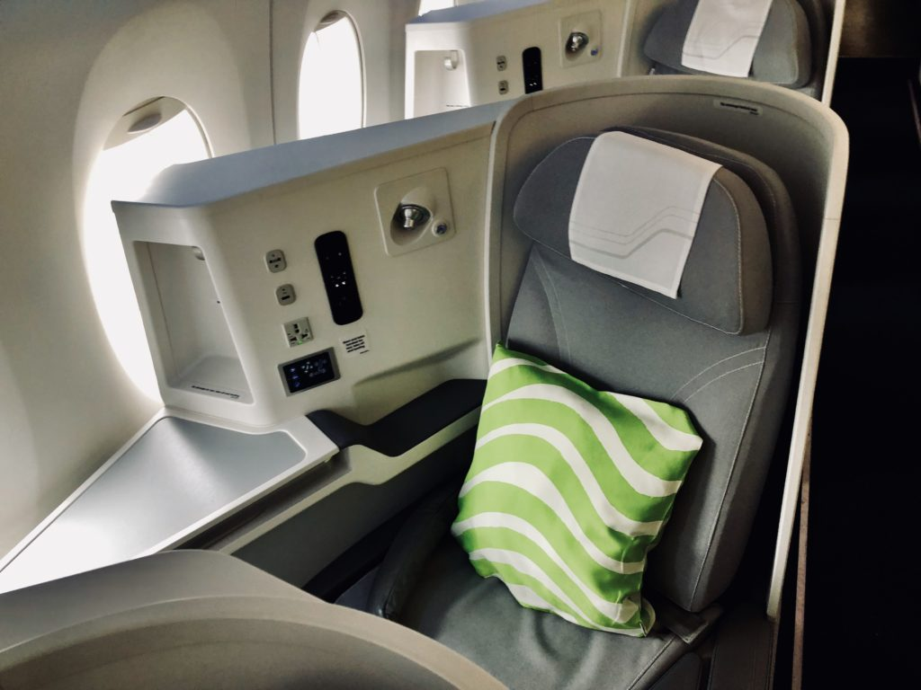 Finnair Business Class A350 Sitz