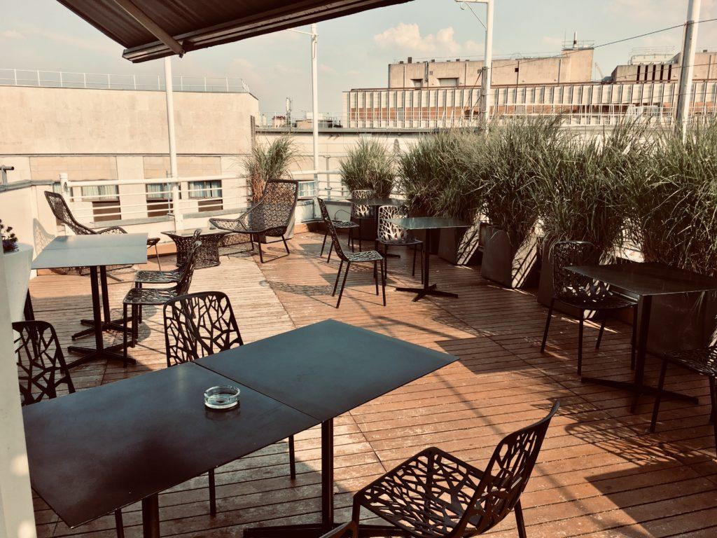 Le Meridien Paris Etoile Club Lounge Terrasse
