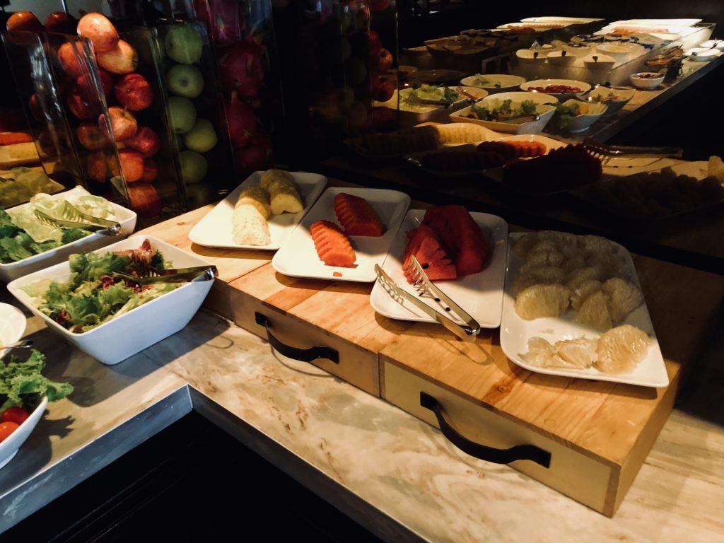 Royal Orchid Sheraton Bangkok Club Lounge Frühstück