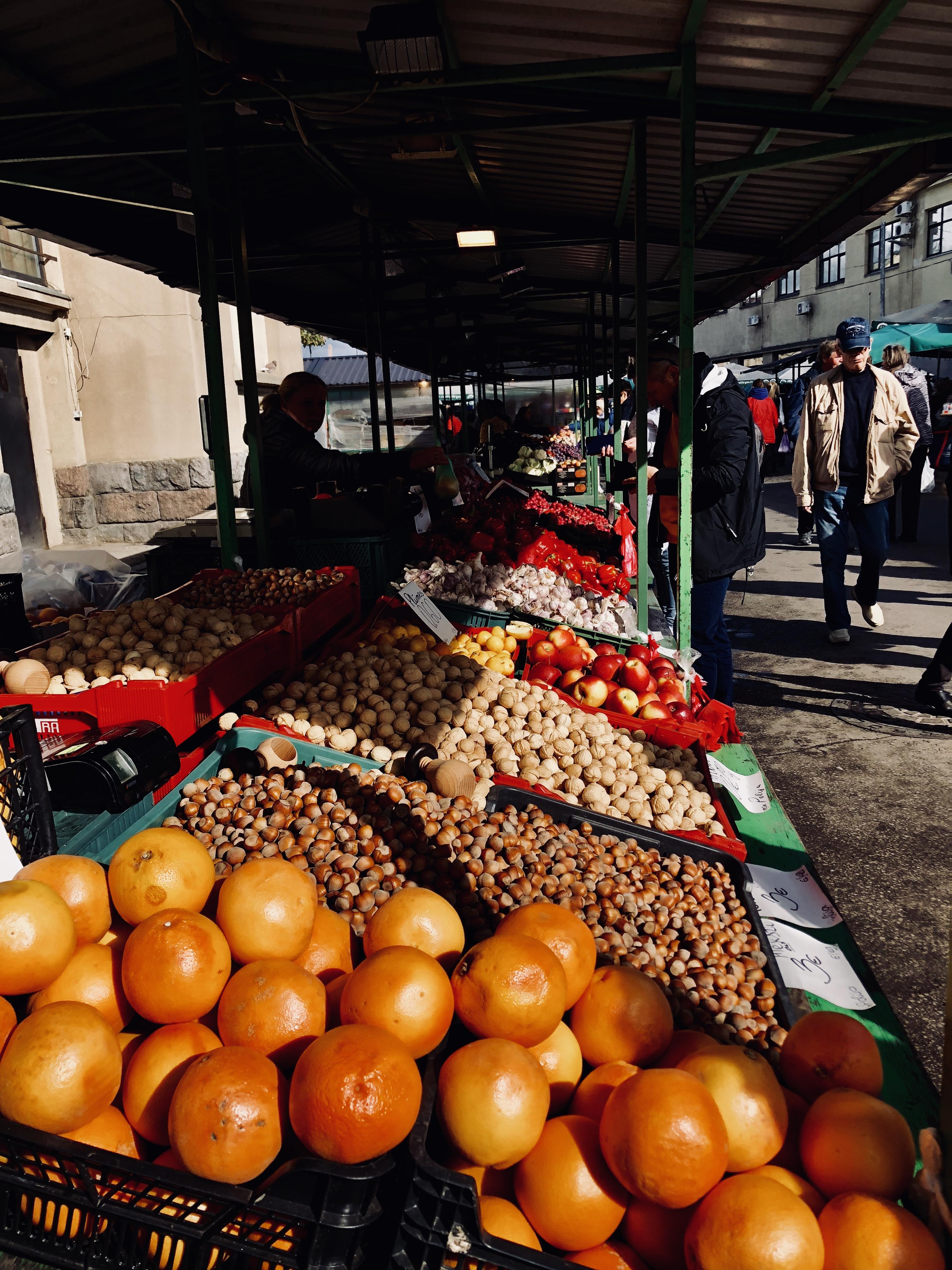 Travel Diary 24 Stunden in Riga Zentralmarkt