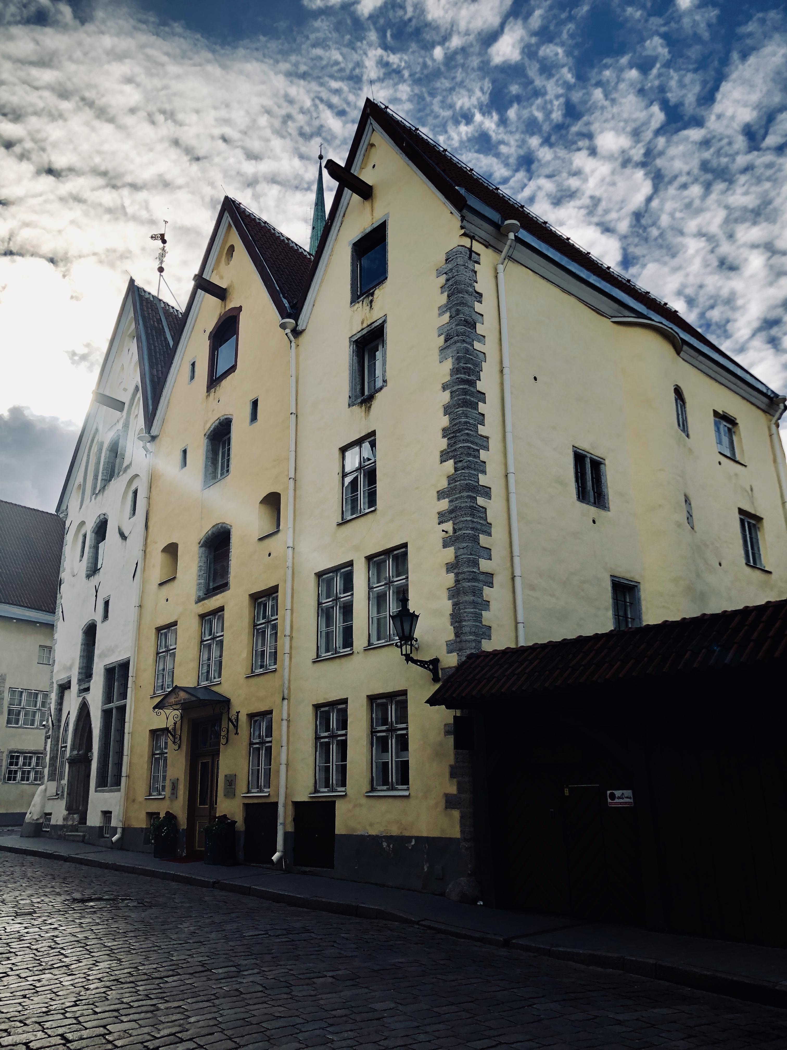 Travel Diary 48 Stunden in Tallinn Three Sisters Hotel