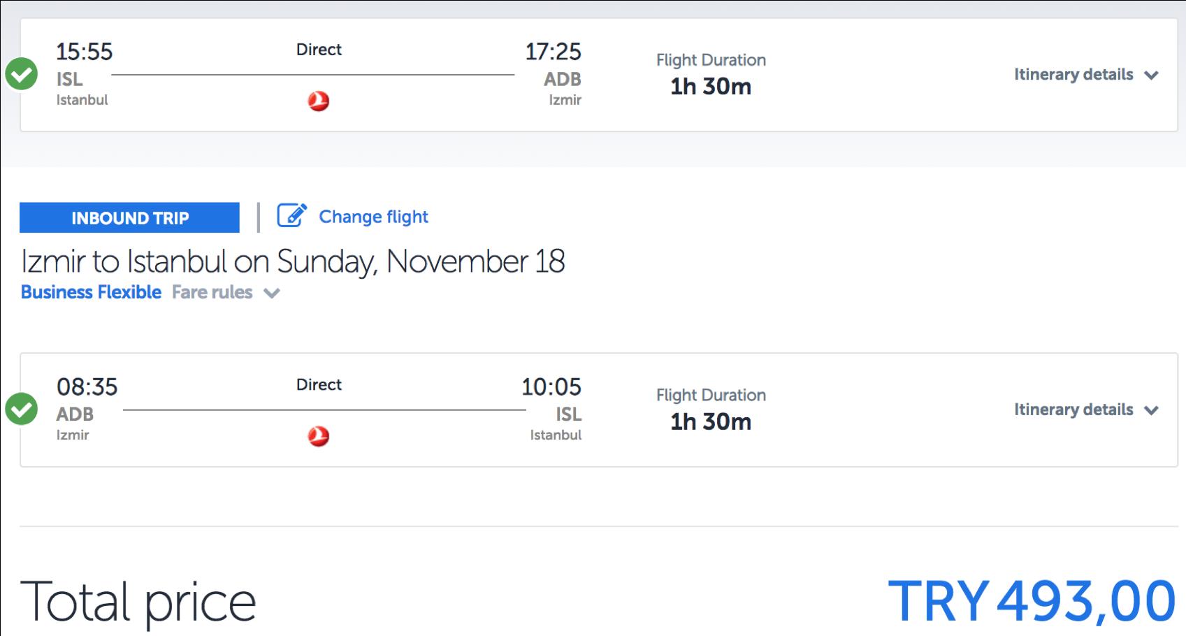 5-fache Statusmeilen bei Turkish Airlines