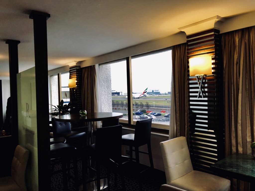 Renaissance London Heathrow Club Lounge