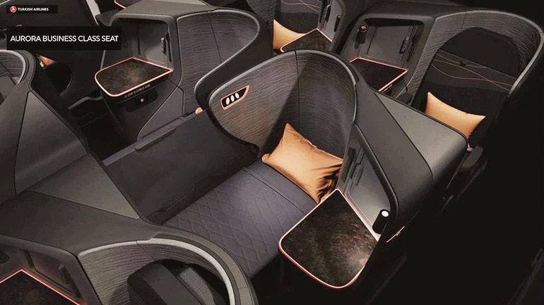 Neue Turkish Airlines Business Class