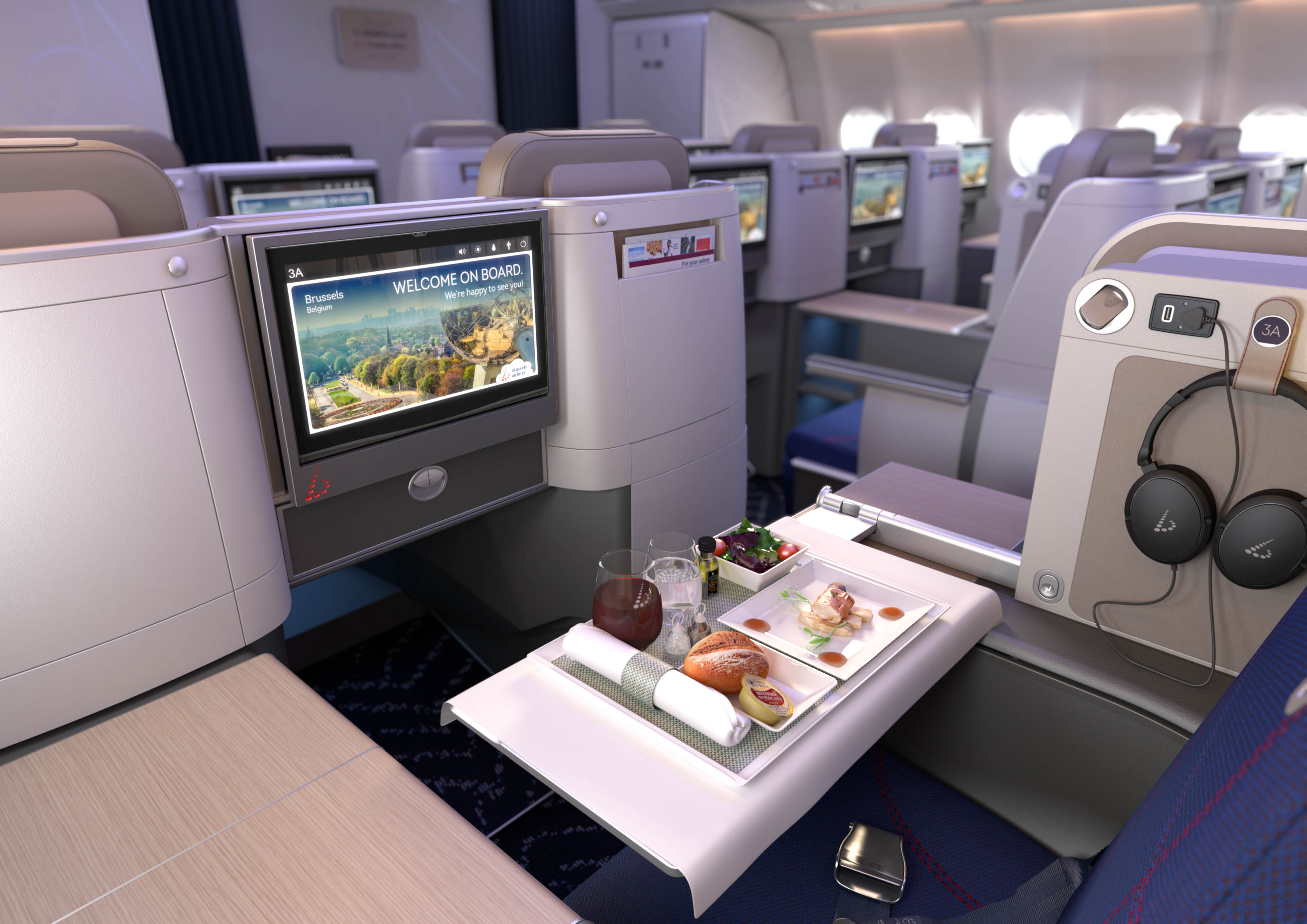 Neue Brussels Airlines Business Class
