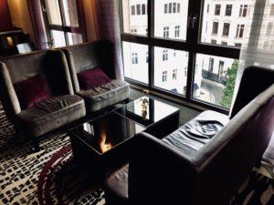 Marriott Hamburg Club Lounge