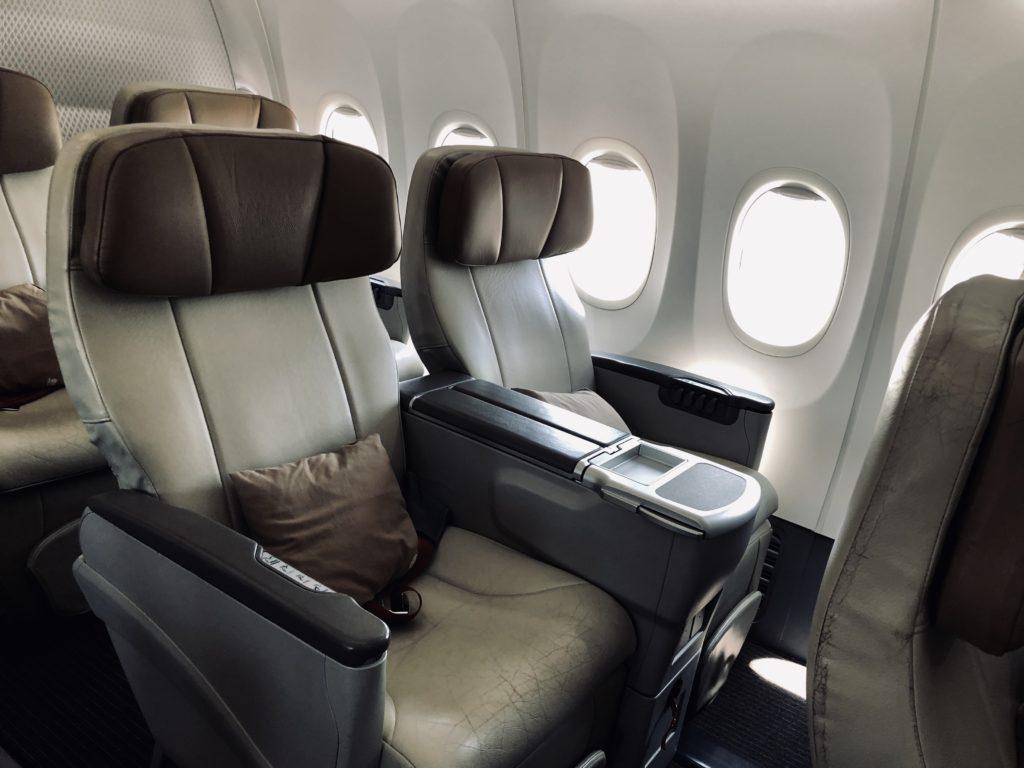 Malindo Air Business Class Sitz