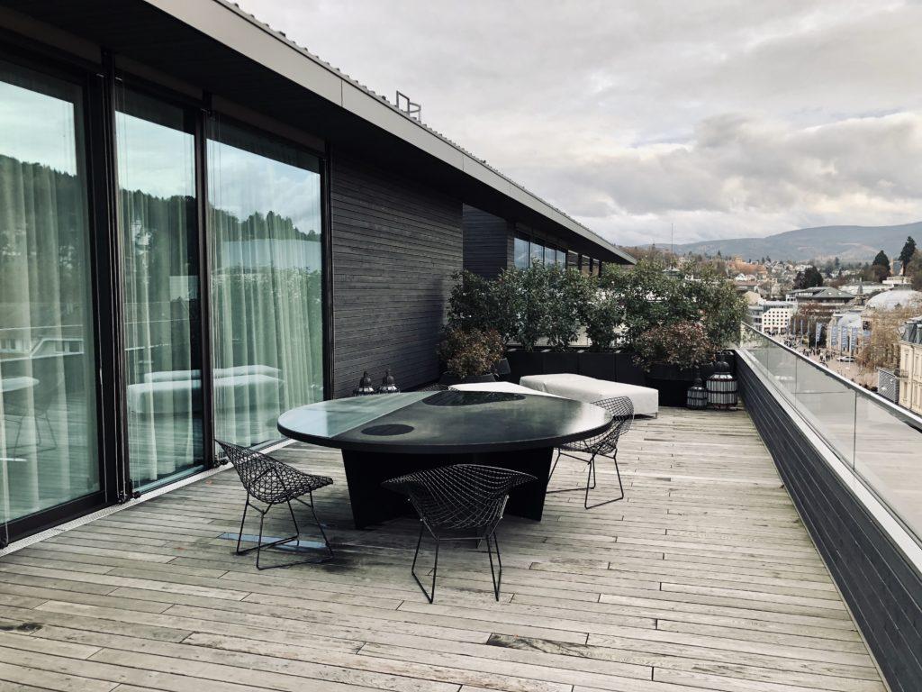 Roomers Baden-Baden Prestige Suite Terrasse
