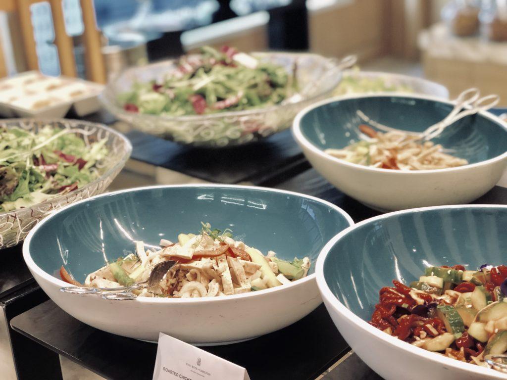The Ritz-Carlton Millenia Singapore Club Lounge Dinner