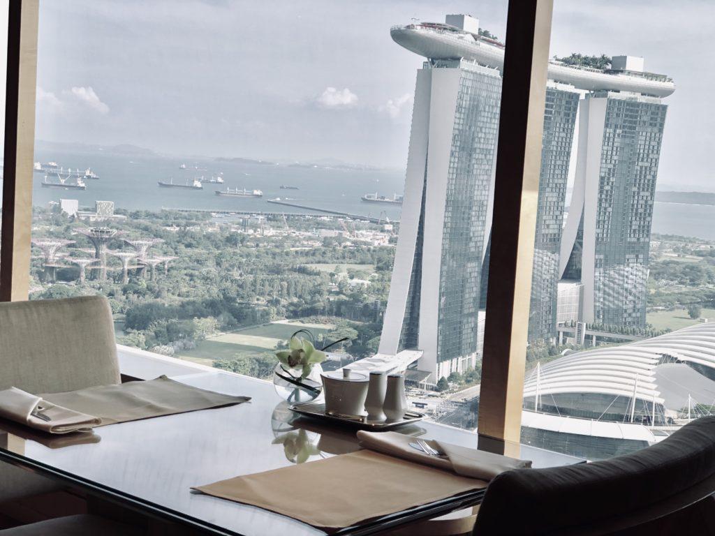 The Ritz-Carlton Millenia Singapore Club Lounge