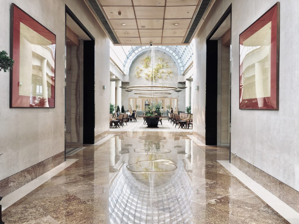 The Ritz-Carlton Millenia Singapore Lobby
