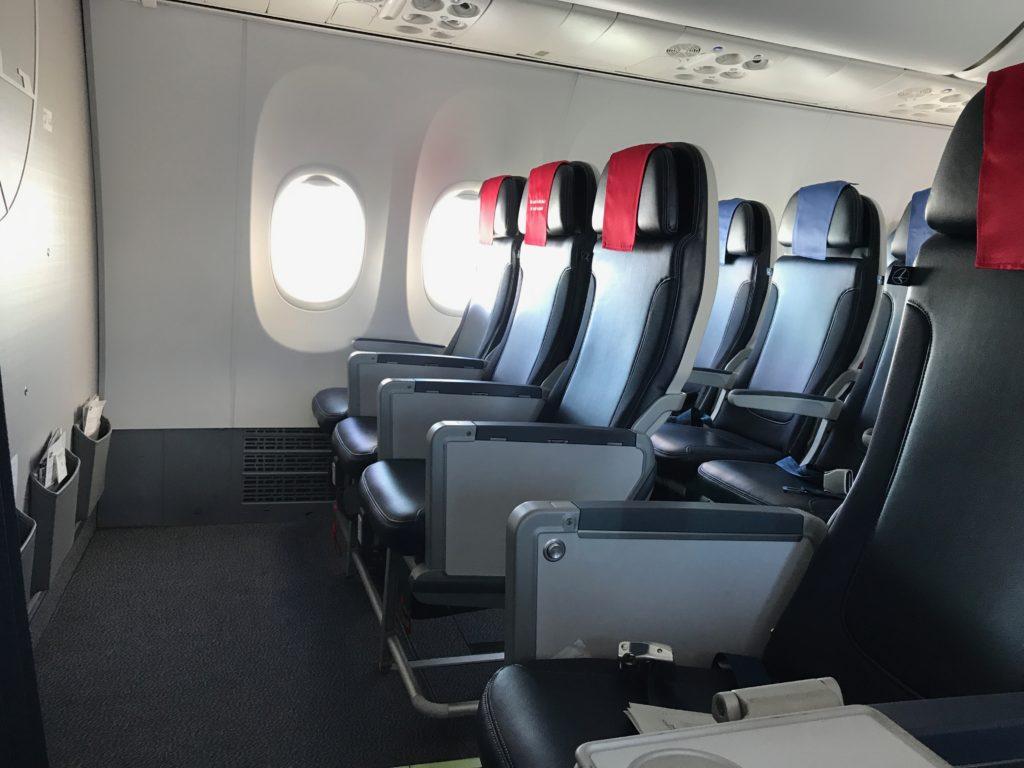 LOT Business Class Boeing 737