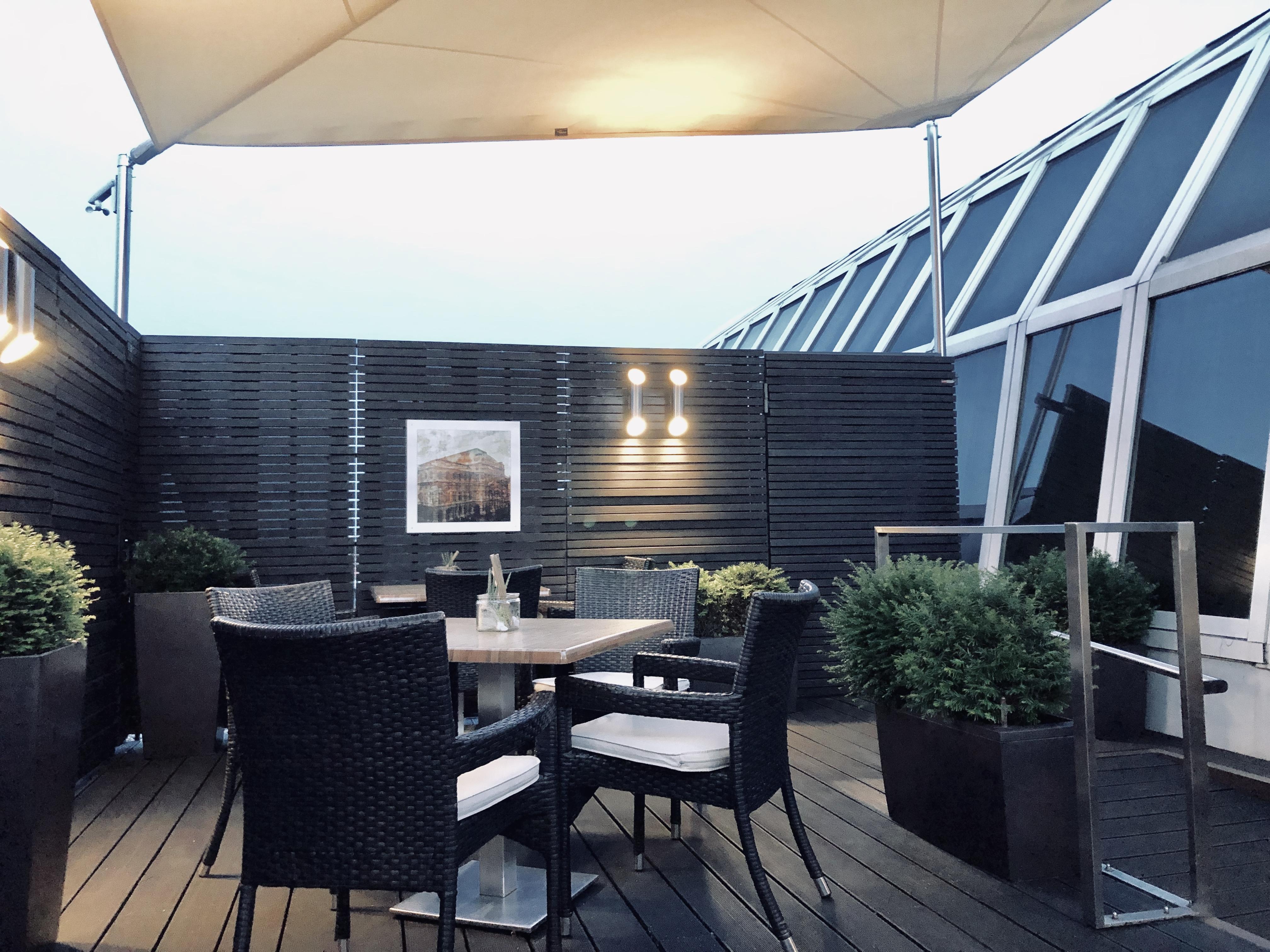 Vienna Marriott Hotel Club Lounge