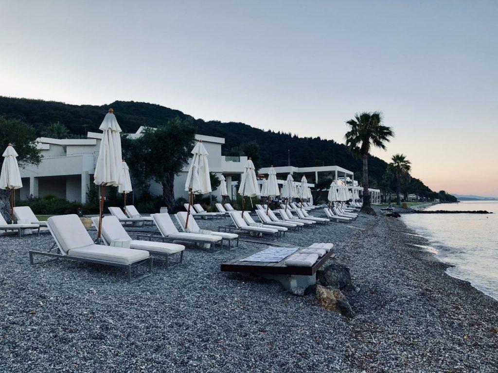 Domes Miramare Corfu Strand