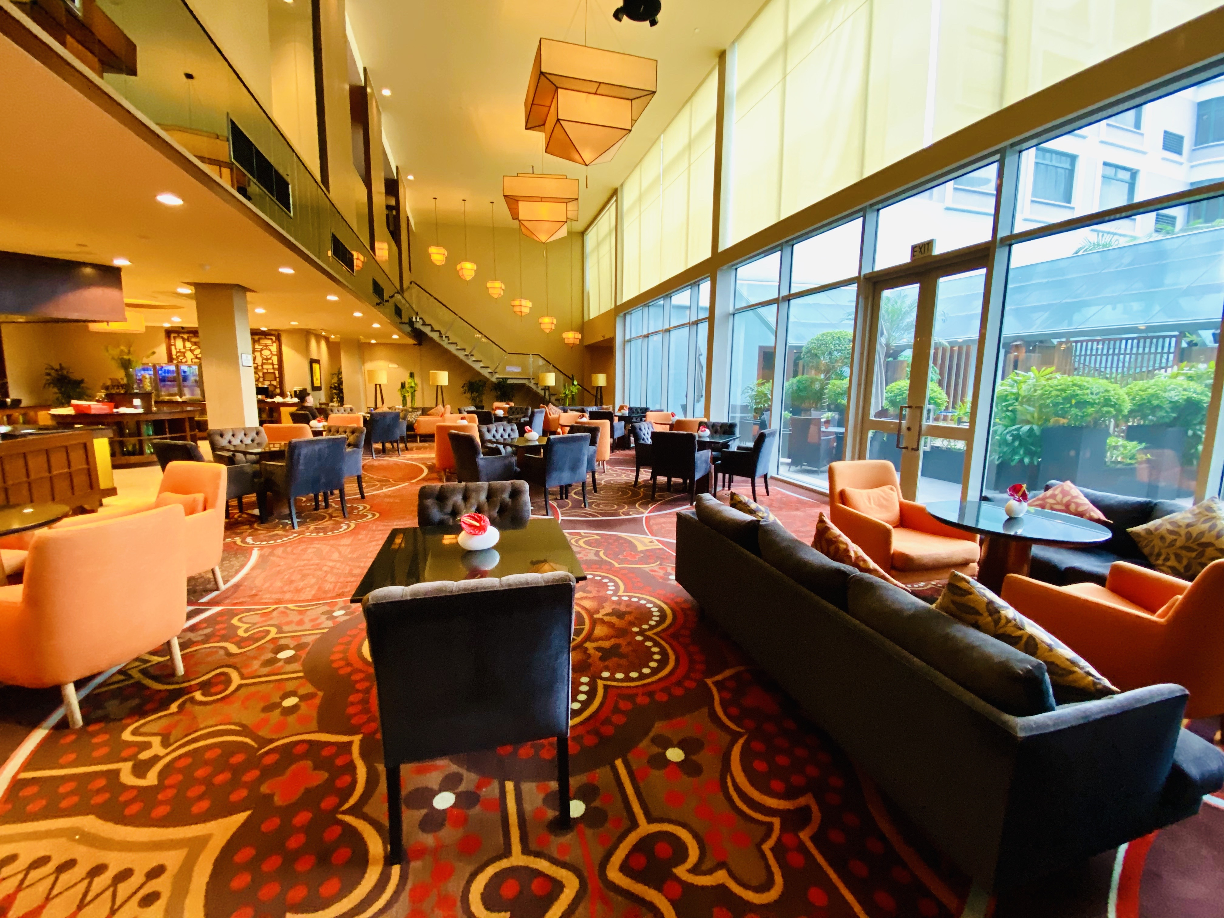 Club Lounge im Sheraton Saigon Hotel & Towers