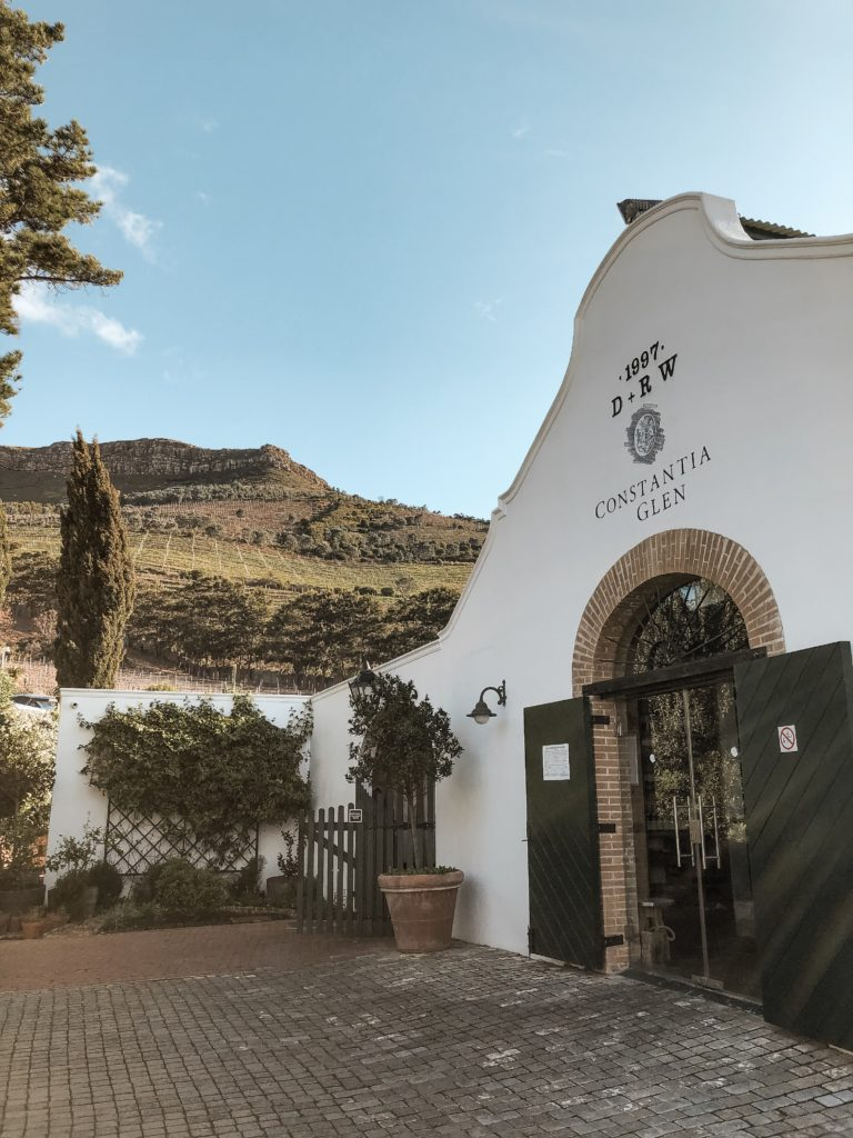 Highlights in Kapstadt Wine Tasting Constantia Glen