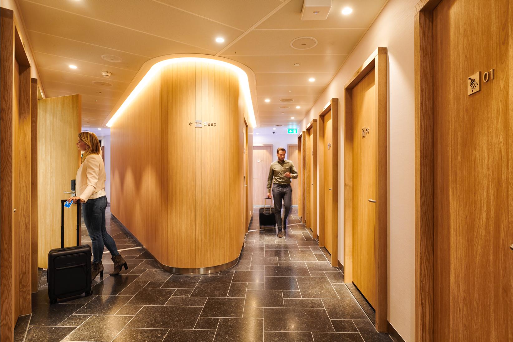 Neue KLM Lounge Amsterdam