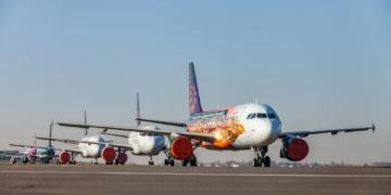 Brussels Airlines Abstellen von Flugzeugen