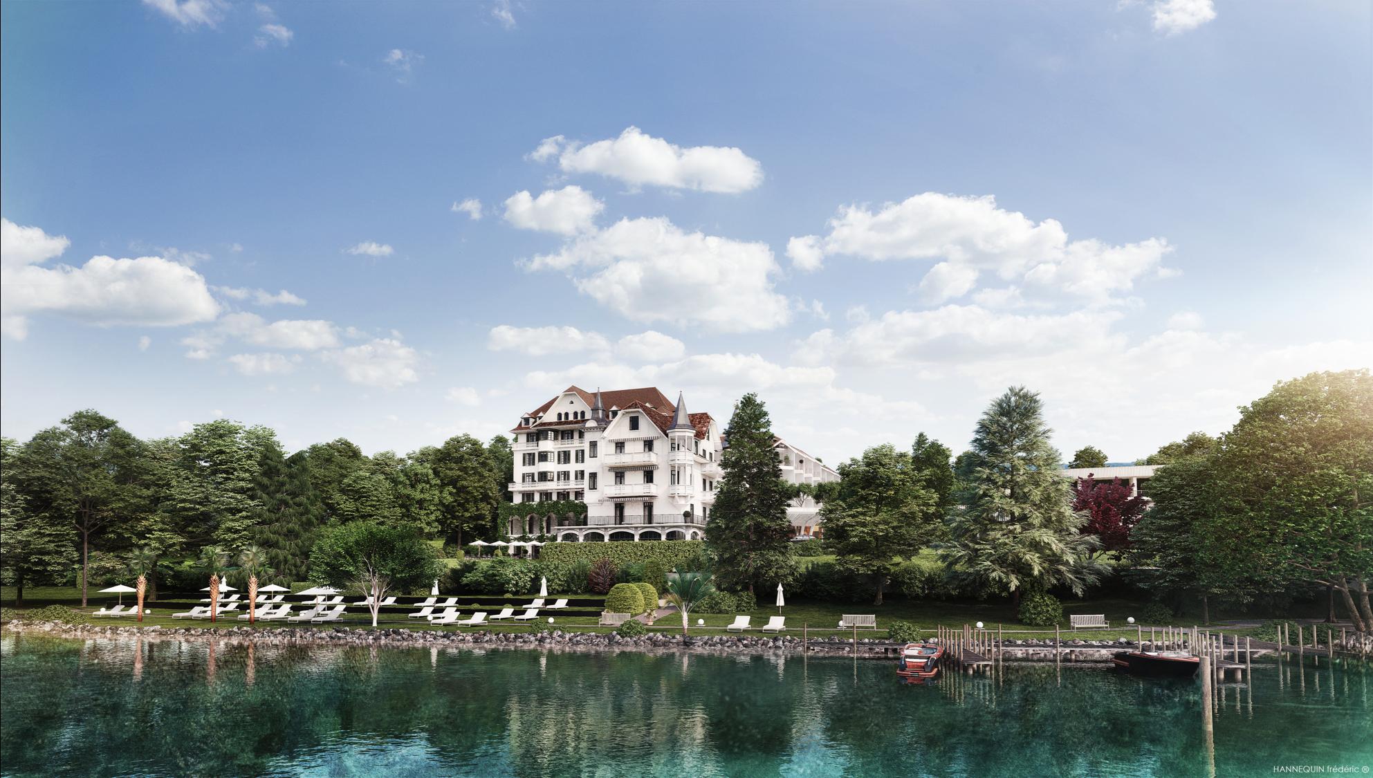 Hotels am See Chenot Palace Weggis