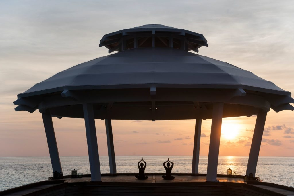 Waldorf Astoria Maldives Sunset Yoga