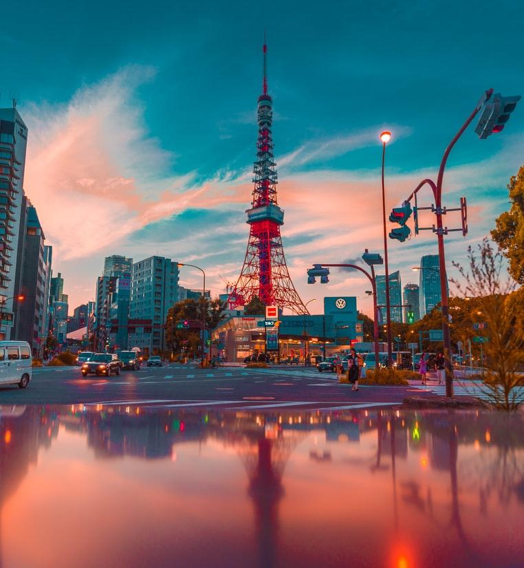 Flüge nach Tokio