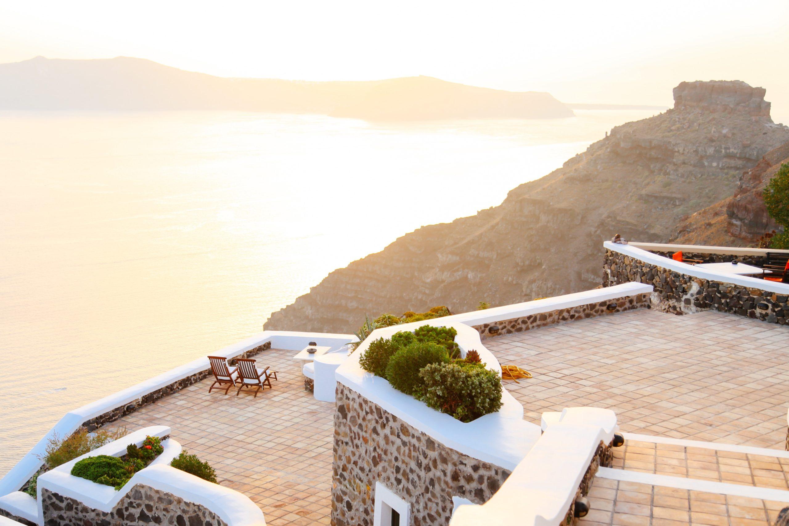 nach Griechenland fliegen