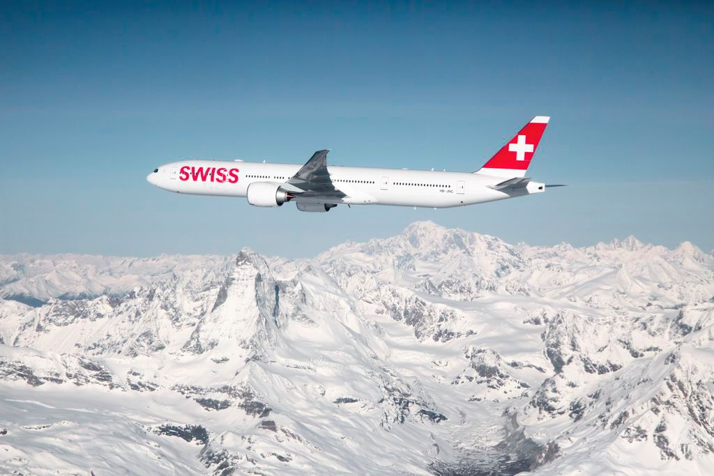 SWISS Winterflugplan