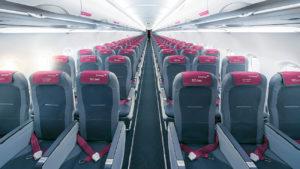 Eurowings bietet freie Mittelsitze an