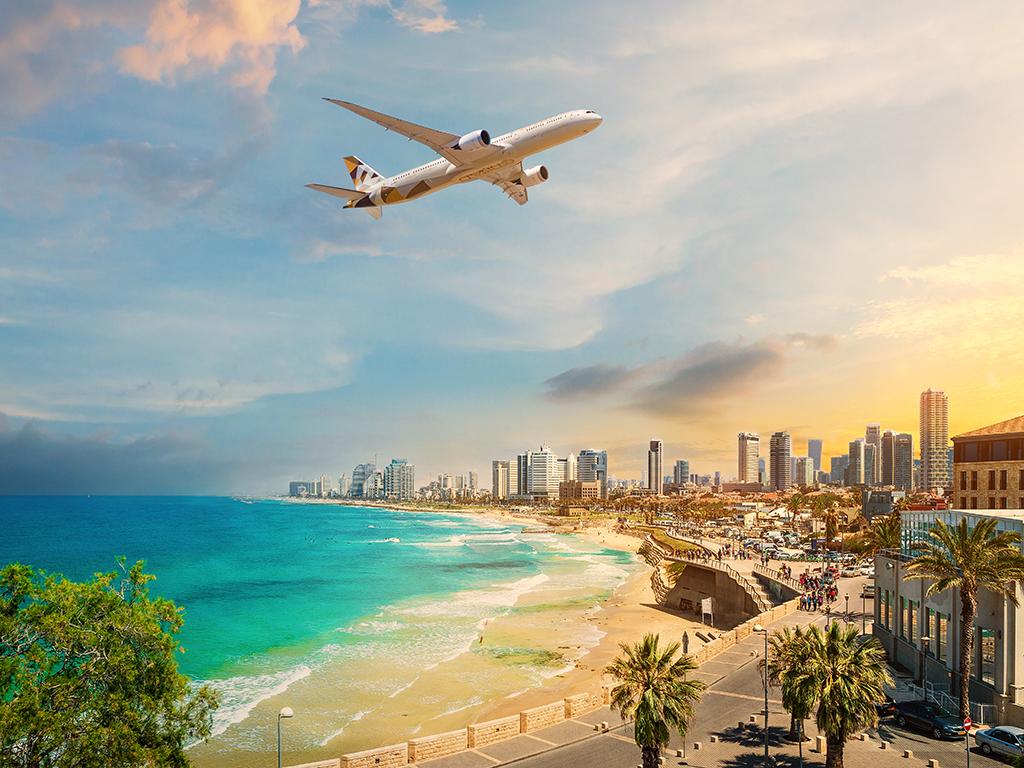 Etihad fliegt von Tel Aviv nach Abu Dhabi