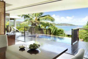 Raffles auf den Seychellen
