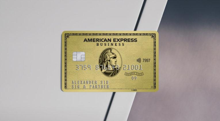 Amex Gold Business Kreditkarte