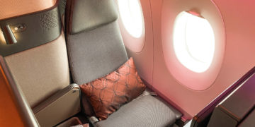 Qatar Airways Qsuite COVID -9