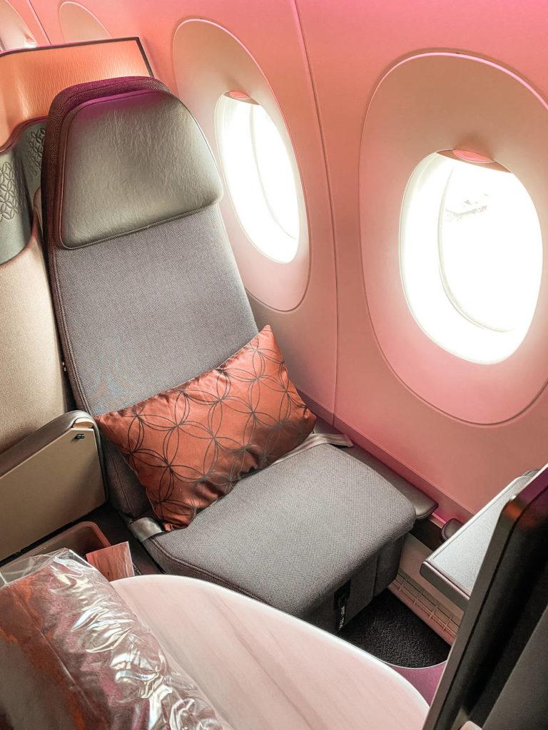 Qatar Airways Qsuite COVID -9
