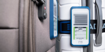 Elektronische Gepäckanhänger BagTag